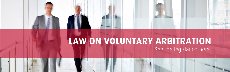 Law on Voluntary Arbitration